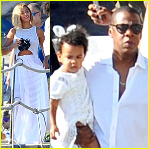 Jay Z And Blue Ivy 2013