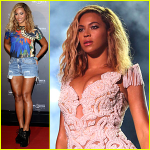 Beyonce: 'Mrs. Carter Tour' Brazil Press Conference & Show!