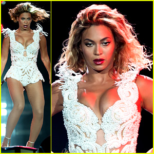Beyonce Rocks New Outfit for Made in America Festival! (Video)
