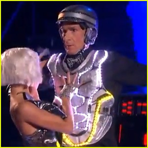 Bill Nye Does Robot Dance to 'Get Lucky' on DWTS - Watch Now!