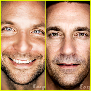 Bradley Cooper & Jon Hamm: 'Esquire' 80th Anniversary Issue!