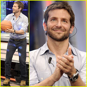 Bradley Cooper Shoots Hoops on 'El Hormiguero'!