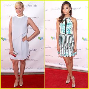 Brittany Snow & Jamie Chung: Splash Ladies!