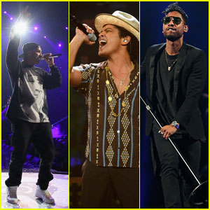 Bruno Mars, Drake, & Miguel Perform at iHeartRadio - Watch No