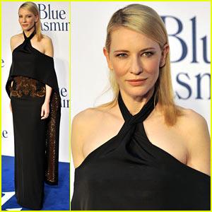 Cate Blanchett: 'Blue Jasmine' UK Premiere!