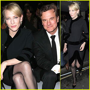 Cate Blanchett & Colin Firth: Tom Ford Fashion Show!