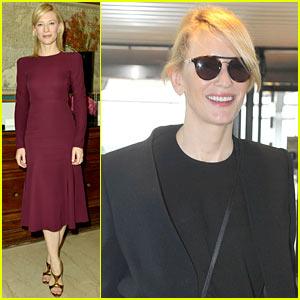 Cate Blanchett: Milan Portrait Session During Fashion Week!