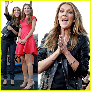 Celine Dion Tapes 'Extra' Appearance with Maria Menounos!