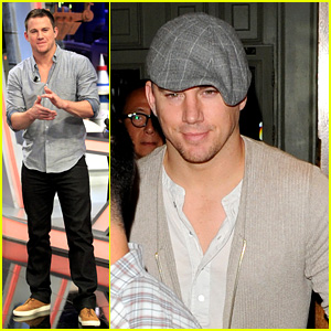Channing Tatum Hangs in London After Spanish TV Appearance