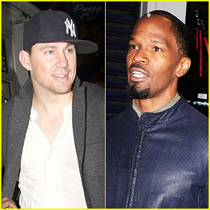 Channing Tatum & Jamie Foxx: The Box Nightclub Duo!