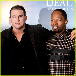 Channing Tatum & Jamie Foxx: 'White House Down' Deauville Photo Call!