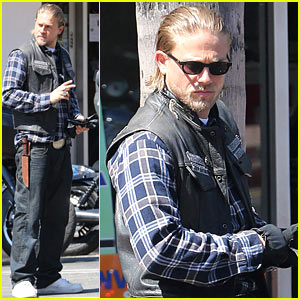 Charlie Hunnam: First Sighting Since 'Fifty Shades of Grey' Casting News