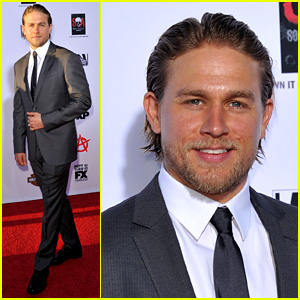 Charlie Hunnam Talks 'Fifty Shades of Grey' for First Time!
