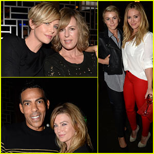 Charlize Theron & Ellen Pompeo: Hakkasan Beverly Hills Preview!