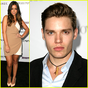 Chloe Bennet & Dominic Sherwood: Young Hollywood Party 2013!