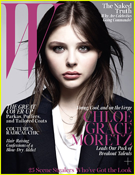 Chloe Moretz Covers 'W' Magazine October 2013