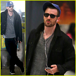 Chris Evans Heads to New York City After Disneyland Date