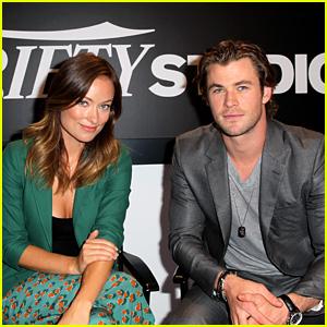 Chris Hemsworth & Olivia Wilde: Variety Studio at TIFF 2013!