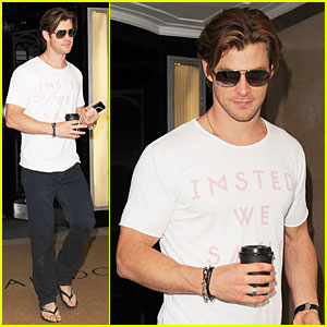Chris Hemsworth: 'Rush' Audition Was Self-Made from Hotel!