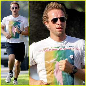 Chris Martin Successfully Passes Motorcycle Driving Tests