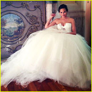 Chrissy Teigen's Wedding Dress - See the Photo!