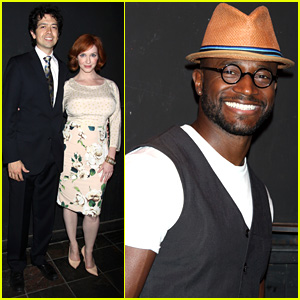 Christina Hendricks & Taye Diggs: 'Everything Is Ours' Opening!