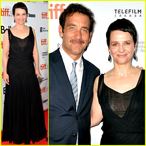 Clive Owen & Juliette Binoche: 'Words & Pictures' at TIFF!