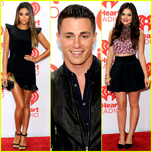 Colton Haynes, Shay Mitchell, & Lucy Hale: iHeartRadio Guests!