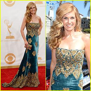 Connie Britton - Emmys 2013 Red Carpet