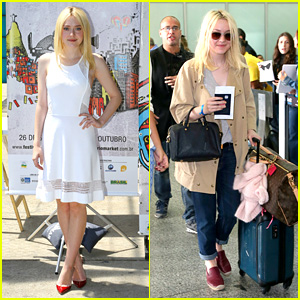 Dakota Fanning: Rio Film Festival After 'Franny' Casting News!