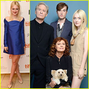Dakota Fanning: 'The Last of Robin Hood' TIFF Premiere!
