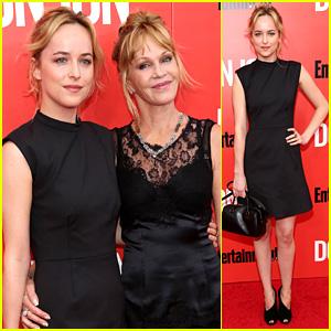 Dakota Johnson: 'Don Jon' Premiere with Mom Melanie Griffith!