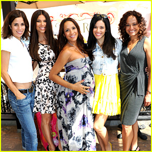 Dania Ramirez: Baby Shower with 'Devious Maids' Ladies!