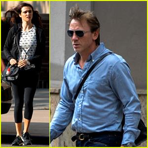 Daniel Craig & Rachel Weisz: 'Betrayal' Rehearsal Break!