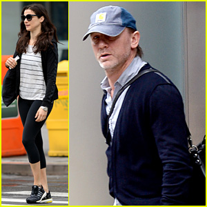 Daniel Craig & Rachel Weisz Work Out Before Rehearsal!