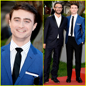 Daniel Radcliffe: 'Kill Your Darlings' Premiere in Venice!