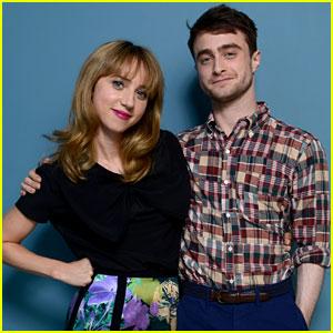 Daniel Radcliffe & Zoe Kazan: 'The F Word' TIFF Portraits & Panel