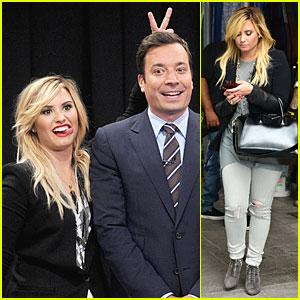 Demi Lovato: 'X Factor' Promo on 'Fallon'!