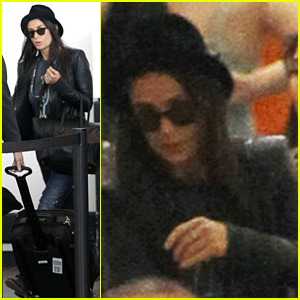 Demi Moore Jets Out of Los Angeles at LAX Airport