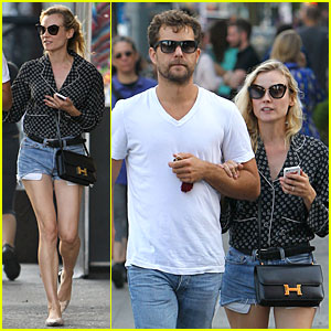 Diane Kruger & Joshua Jackson Hook Arms for NYC Stroll!