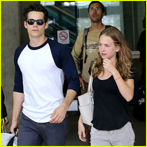 Dylan O'Brien Visits Girlfriend Britt Robertson in Vancouver!