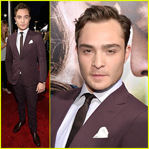 Ed Westwick: 'Romeo & Juliet' Hollywood Premiere!