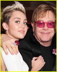 Elton John: Miley Cyrus is a Meltdown Waiting to Happen