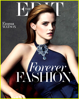 Emma Watson Covers 'The Edit' in Sustainably Produced Dress