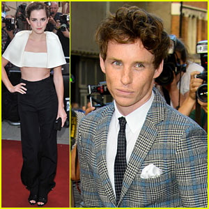 Emma Watson & Eddie Redmayne - GQ Men of the Year Awards 2013
