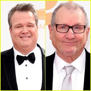 Eric Stonestreet & Ed O'Neill - Emmys 2013 Red Carpet