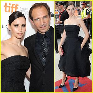Felicity Jones & Ralph Fiennes: 'Invisible Woman' TIFF Premiere!