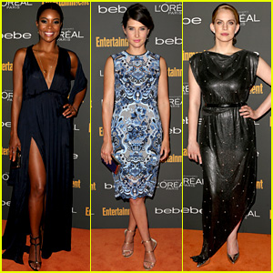 Gabrielle Union & Cobie Smulders: EW's Pre-Emmy Party 2013