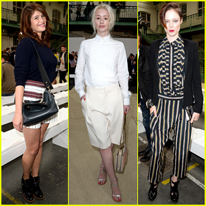 Gemma Arterton & Iggy Azalea: Chloe Paris Fashion Show!