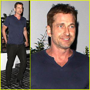 Gerard Butler: Cecconi's Dinner After 'Gods of Egypt' News!